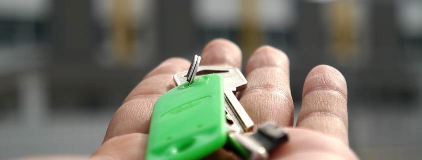 Nycklar, en egendom till ditt hus