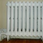 Uppvärmning för attefallshus - Radiator